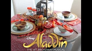 Create Your Own ALADDIN Inspired Tablescape