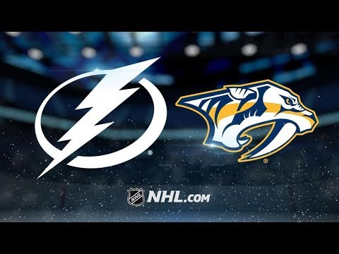 Tampa Bay Lightning vs Nashville Predators | Nov.19, 2018 | Game Highlights | NHL 2018/19 | Обзор