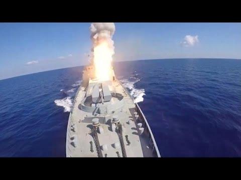 Συρία: Ρωσικοί πύραυλοι εναντίον ΙΚΙΛ