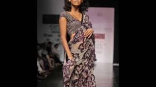 India Fashion Week-Saree Show