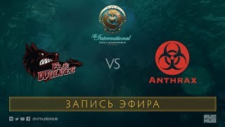 EWolves vs Anthrax, The International 2017 Qualifiers [Jam]