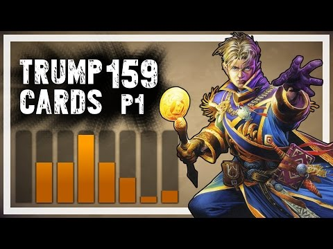 cards - Good guy Trump takes care of his minions and slowly but surely massages his opponents to death. What a nice guy. ▻ Part 2: https://www.youtube.com/watch?v=gJT4aWbHm6g → value games: ...