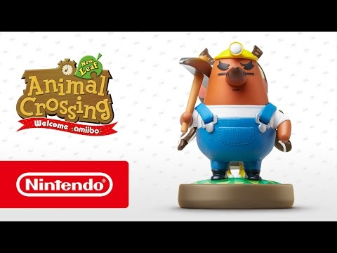 Animal Crossing: New Leaf - Welcome amiibo - Resetti (Nintendo 3DS)
