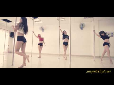 Trung Quân Pole Dance Múa cột