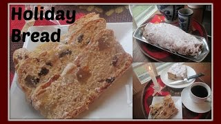 How to Make German Stollen Bread for Christmas