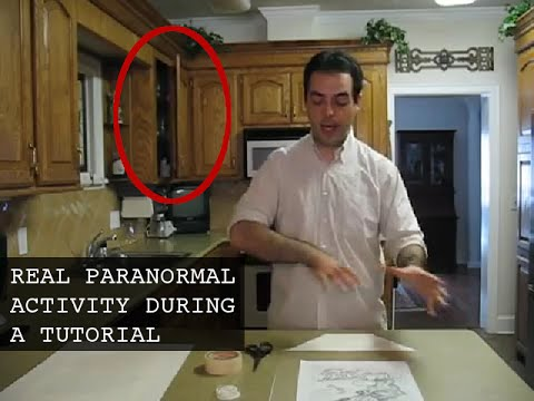 real ghost videos: paranormal activity caught on tape in haunted house!