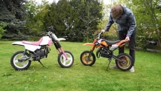 8. Pocket Bike VS Yamaha PW50 👉  Die wichtigsten Unterschiede!