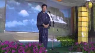 羽黒の夏祭り(2)開会あいさつ