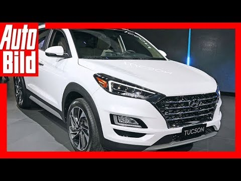 Hyundai Tucson Facelift (NYIAS 2018) Sitzprobe/Review/D ...