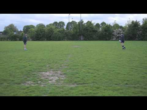 Mini rugby video: How to punt kick