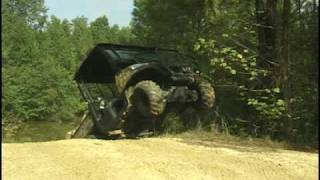 10. Kubota RTV900 on 2 wheels