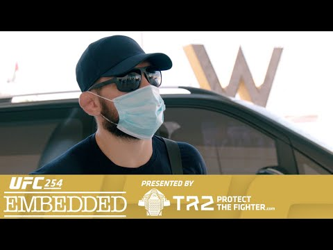 UFC 254 Embedded: Vlog Series - Episode 1