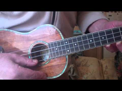 Concert Ukulele - Standard tuning of Ukulele in GCEA for Concert and Soprano ukes. If you have a new Ukulele or new strings, it will take a few weeks for it to stay in tune as...