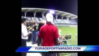 Wanchope se va a los golpes con un aficionado en Panamá