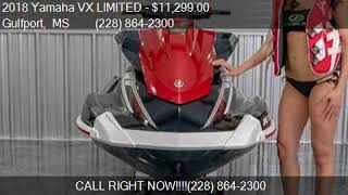 10. 2018 Yamaha VX LIMITED  for sale in Gulfport, MS 39507 at Je