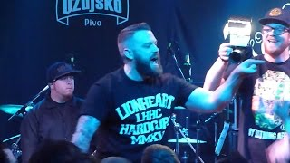 LIONHEART - Undisputed & Lifer & Hail Mary - Live @ Zagreb - Vintage Industrial Bar 17.03.2015