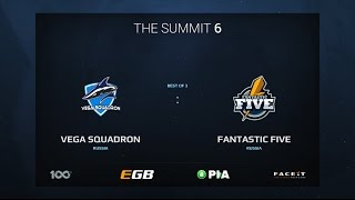 Vega Squadron vs Fantastic Five, Game 1, The Summit 6 Qualifiers, Europe