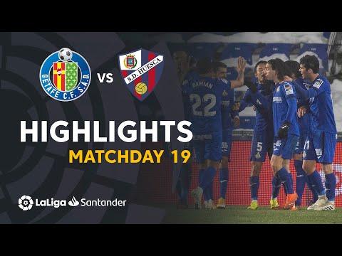 FC Getafe Madrid 1-0 SD Sociedad Deportiva Huesca