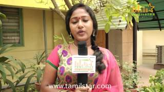 Abinitha at Meenakshi Kadhalan Elangovan Audio Launch