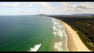 Gerroa Australia  city pictures gallery : Dji Phantom3 pro Aerial footage of Gerroa To Huskisson Australia