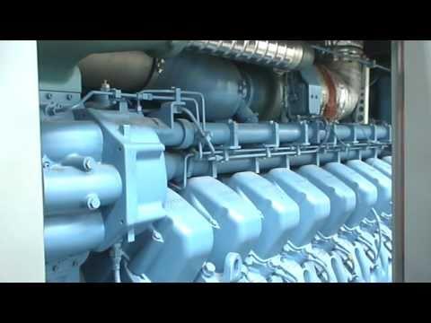 KiwiRail DL class MTU 20V4000-R43L Fires up