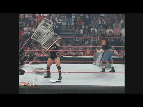 wwf backlash. rhyno vs raven. to the face.