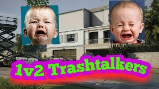 Download Lagu Rainbow six siege 1v2 kid gets mad and kicks me Mp3