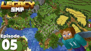 LegacySMP 1 : Episode 5 : I can fly.. I CAN BUILD!