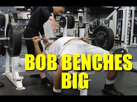 big 3 - BOB BENCHES BIG (3/8/2014) Like my Facebook page: https://www.facebook.com/ipfpowerlifter Check out my website: http://www.consistenteffort.com Sponsored by ...