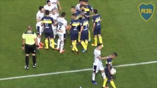 Boca Quilmes 2016 / Jugada de Centurion y tumulto