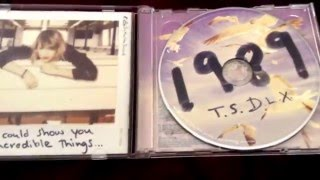 Taylor Swift - 1989 CD + DVD (Japanese Deluxe Edition) (Unboxing)