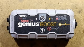 Noco is fairly prominent brand in the lithium jump starter market, mainly due to heavy marketing.  This unit failed after a few uses, so let's take a look inside and see if we can find what went wrong.The optocoupler-like devices are indeed Cosmo 1010 optocouplers.The battery balancing is dealt with by an 8254AA chip with 4435 MOSFETs. The LEDs are driven by an Xn2115tp device.The main processor is a Holtek HT46R06.The USB output is powered by an MP1584 buck regulator.The USB charging input is boosted up by an FP6293.There's a GZ423 (maybe a dual op amp?) and a 3.3V regulator.If you enjoy these videos you can help support the channel with a dollar for coffee, cookies and random gadgets for disassembly at:-http://www.bigclive.com/coffee.htm
