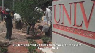 UNLV Earns Tree Campus USA Designation from Arbor Day Foundation