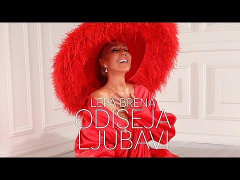 Odiseja ljubavi - Lepa Brena - nova pesma, tekst pesme i tv spot
