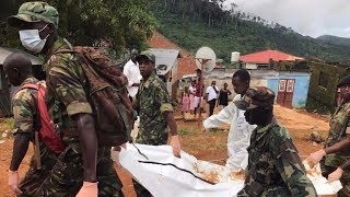Sierra Leone mudslide: Disaster shocks nation