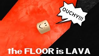 THE FLOOR IS LAVA IN ROBLOX!  RADIOJH GAMES & GAMER CHAD. Thank you for watching another fun family friendly...