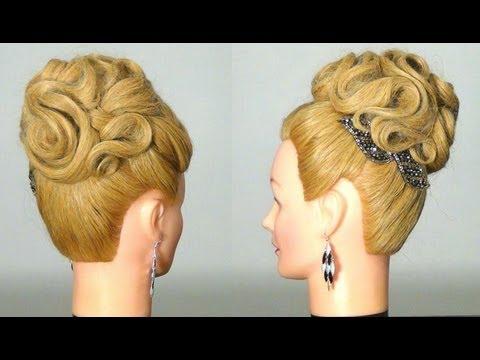 Причёска с сеточкой фото