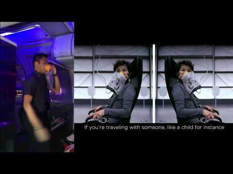 Imagine being on this flight? Gotta LOVE Virgin ....Classic