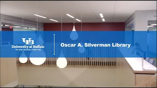 a tour of the redesigned and renovated third floor of the Oscar A. Silverman Library