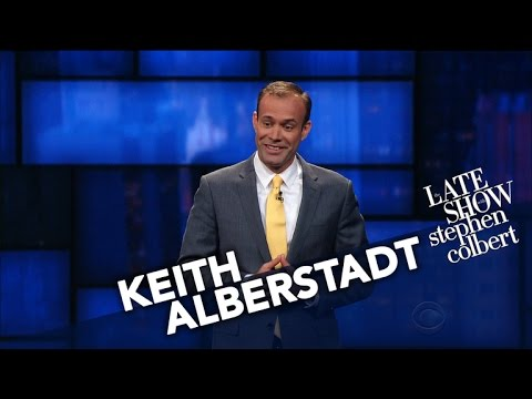 Keith Alberstadt StandUp on The Late Show