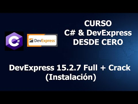 DevExpress 15.2.7 Full + Crack (Instalación).