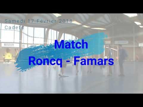 Match Cadets contre Famars