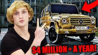 Video Top 10 RICHEST Youtubers Of 2017! (Logan Paul, DanTDM, Jake Paul & More) MP3, 3GP, MP4, WEBM, AVI, FLV Juli 2018