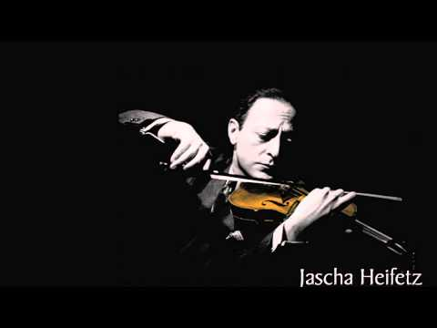 Heifetz plays Dvorak's Humoresque