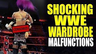 13 Shocking WWE Wrestling Attire Malfunctions! |  wrestlelamia