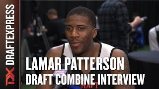 Lamar Patterson Draft Combine Interview