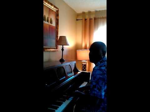 Noel Blair sampling songs on the piano
