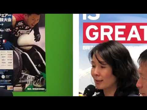「SPORT IS GREAT」で英国パラリンピック委員会CEOティム・ホリングスワースさんが講演