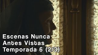 """Game of Thrones contenido extra de la edición Blu-ray sexta Temporada - Escenas eliminadas. Lady Olenna discute con su hijo Lord Mace Tyrell sobre sus planes en el Desembarco del ReySuscribanse a nuestro canal de Youtube:➤https://www.youtube.com/channel/UCJYkzUkSMbApqHmnC7pBWMA?sub_confirmation=1Entérate más noticias, videos y fotos sobre la serie Juego de Tronos➤http://www.tronodehierro.com/Nuestra página de facebook➤https://www.facebook.com/tronodehierro1Este video contiene propiedades de Home Box Entertainment (HBO)Copyright Disclaimer Under Section 107 of the Copyright Act 1976, allowance is made for """"fair use"""" for purposes such as criticism, comment, news reporting, teaching, scholarship, and research. Fair use is a use permitted by copyright statute that might otherwise be infringing. Non-profit, educational or personal use tips the balance in favor of fair use."""