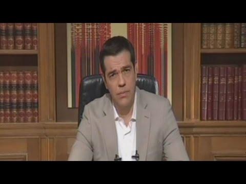 """Τσίπρας:""""Εξασφαλισμένες οι καταθέσεις, οι μισθοί και οι συντάξεις"""""""